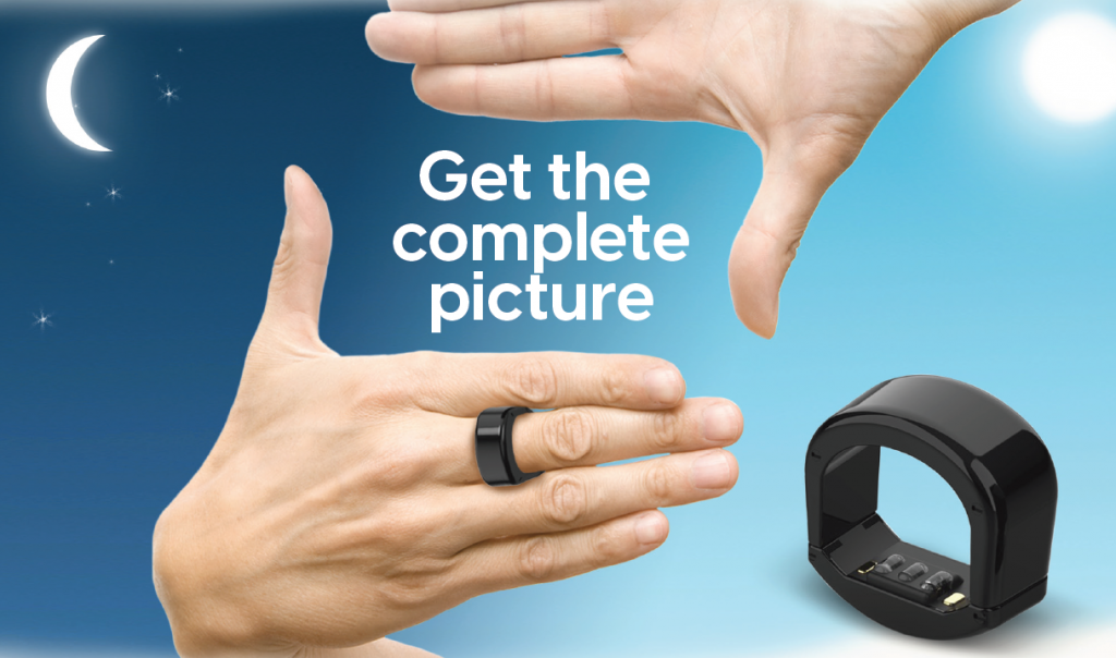 BodiMetrics™ CIRCUL™ ring for health and fitness tracking.