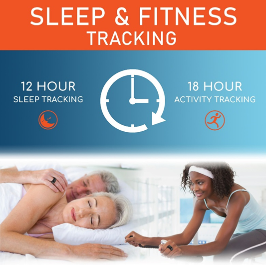 BodiMetrics™ CIRCUL™ ring has great battery life with 12 hour sleep tracking and 18 hour activity tracking