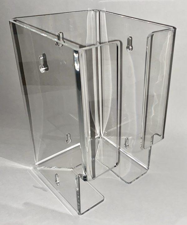 plastic wall mount holder for eye shields