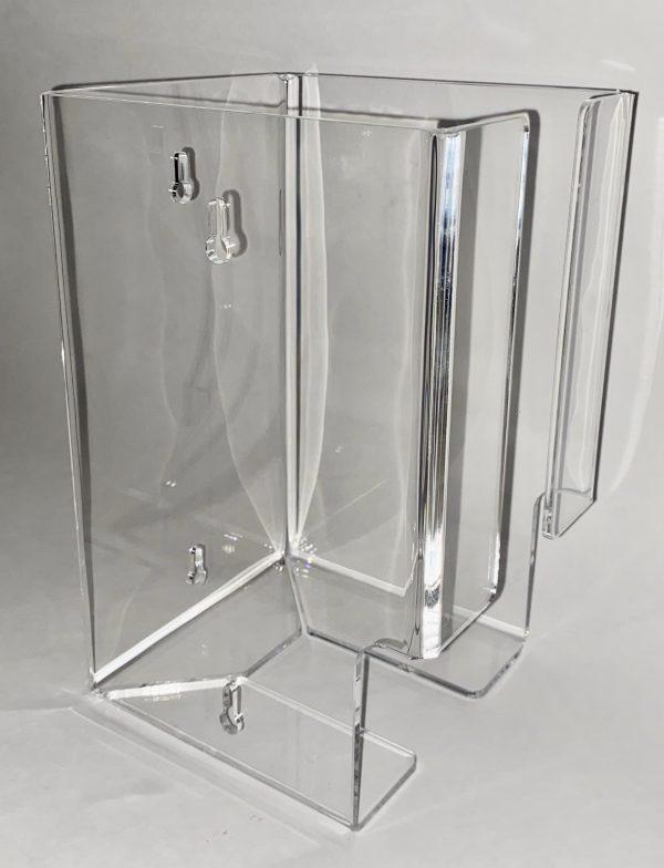 plastic wall mount holder