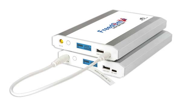 CPAP Battery duel connection